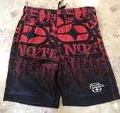 Like New NO FEAR Boys Shorts 100% Polyester Size10/12 in Okinawa, Japan