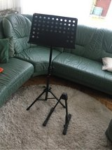 guitar stand for electric guitar +  music stand in Ramstein, Germany