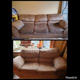 Couch and love seat in Fort Leonard Wood, Missouri