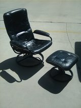 Exec recliner with foot stool in 29 Palms, California