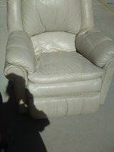 Leather Rocker Recliner in 29 Palms, California