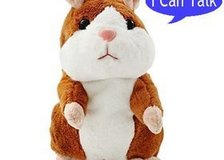 Talking Hamster Plush Toy, Repeat What You Say Funny Kids Stuffed Toys (New) in Moody AFB, Georgia