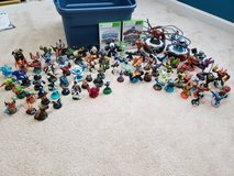 Skylanders for the XBox 360, over 80 pieces in Camp Lejeune, North Carolina