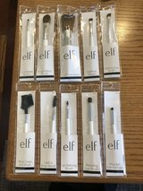 10 e.l.f. Cosmetic Brushes - New in Packages in Lockport, Illinois