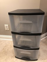 3-drawer plastic stack unit in Lockport, Illinois