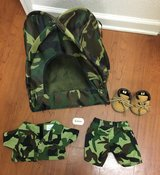 Build A Bear Army Camo Tent, ACU's, Beret + in Fort Campbell, Kentucky
