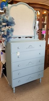 French Provincial 5 Drawer Chest #2224-84 in Camp Lejeune, North Carolina