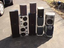 YOIR CHOICE OF SPEAKER PAIRS. in Naperville, Illinois