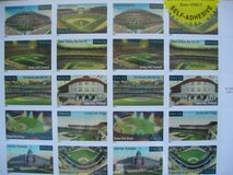BASEBALL'S LEGENDARY PLAYING FIELDS U.S. POSTAGE STAMPS in Chicago, Illinois