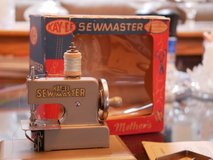 Vintage KAYanEE Sew Master Steel Toy Sewing Machine for Little Girls in Lockport, Illinois