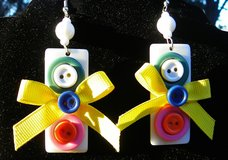 EARRINGS - Retro Vintage Buttons and Bows in Alamogordo, New Mexico