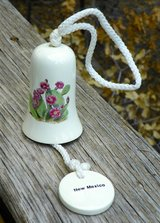 Pretty Mission Bell WIND CHIME ~ Ceramic ~ New in Alamogordo, New Mexico