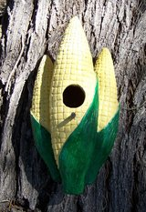 Unique BIRDHOUSE ~ CORN EARS ~ Nice VINTAGE in Alamogordo, New Mexico
