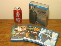 Bourne Trilogy Bluray Boxed Set in Westmont, Illinois