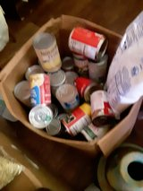 A box Canned in Fort Campbell, Kentucky