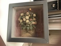 ***Floral Grey Shadow Box*** in The Woodlands, Texas