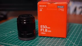 Sony APSC e-mount  f1.8 50mm OSS lens in Okinawa, Japan