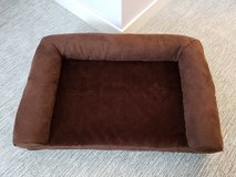 Plush Brown Pet Bed Sofa - Medium in Aurora, Illinois