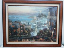 Thomas kinkade Lombard Street w/Certificate of Authenticity in Wright-Patterson AFB, Ohio