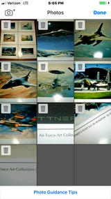 """Lot Of 6 U.S. Air Force Art Collection Military Air Crafts Posters Prints - 23"""" x 17"""" in Moody AFB, Georgia"""