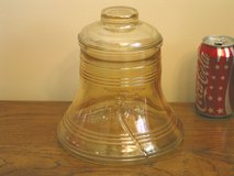 Carnival Glass Liberty Bell Cookie Jar in Bartlett, Illinois