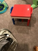 Activity storage table and chairs in Naperville, Illinois
