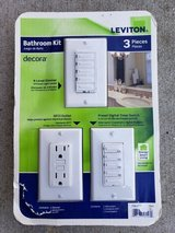 Leviton Bathroom Kit - Decora in Bolingbrook, Illinois