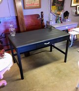 solid wood chalk painted desk in Cherry Point, North Carolina