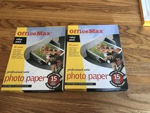 OfficeMax Photo Paper for Injet Printer 2 opened Pkges. in Naperville, Illinois