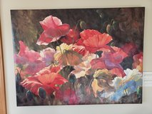Beautiful floral canvas in Naperville, Illinois