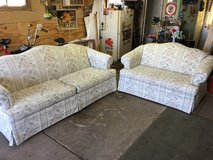 Couch and love seat in Joliet, Illinois