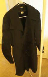 Army Trench Overcoat Mens 42L  Zip Out Liner in Wiesbaden, GE