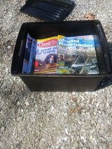 Box of Model Railroader mags. in Fort Leonard Wood, Missouri