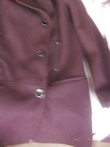 coat  burgandy     colour  oe dark purple in Lakenheath, UK