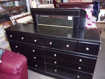 Six Drawer Dresser With Mirror in Fort Riley, Kansas