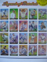 BASEBALL LEGENDARY PLAYERS AND BALL PARKS U.S. POSTAGE STAMPS in Chicago, Illinois
