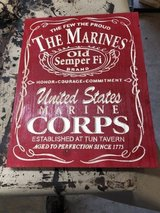 marine corps bar sign in Quantico, Virginia