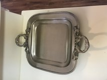 Silver/Pewter  Serving Tray in Bolling AFB, DC