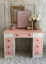 Desk - white and pink in Houston, Texas