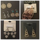 New, near new fashion earrings in Morris, Illinois