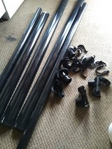 black plastic guttering in Lakenheath, UK