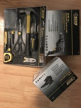 Brand New Steel Grip 3/8 Corded Drill & Tool Set in Bolingbrook, Illinois