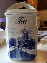 blue  tea canister INGE Germany in Westmont, Illinois