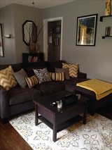 Like New Sofa w/ Reversible Chaise & Matching Chair in Kingwood, Texas