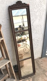 Beautiful vintage early 1900s mirror in Yucca Valley, California