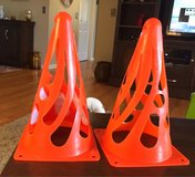2 Collapsible Training Cones in Bolingbrook, Illinois