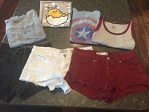 Girls shorts and tees in Joliet, Illinois