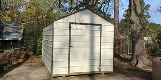 storage shed in Fort Polk, Louisiana