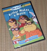 NEW PBS Kids Arthur Makes A Movie DVD 4 Great Arthur Adventures in Plainfield, Illinois