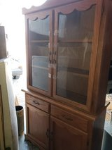 Golden Oak / China Cabinet in Fort Campbell, Kentucky